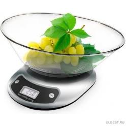 Электронные кухонные весы Centek CT-2451 Silver