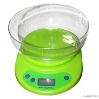 1503 Весы кухонные электронные с чашкой