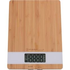 Электронные кухонные весы First FA-6410 Wood