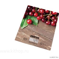 Электронные кухонные весы Centek CT-2462 Cherry