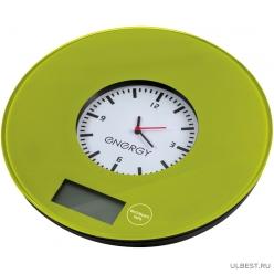Электронные кухонные весы Energy EN-427 Green