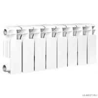 Радиатор алюминиевый OASIS 200/100/8 секций