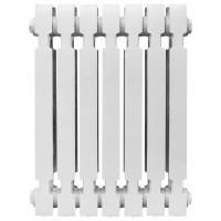 Чугунный радиатор  KONNER Модерн, 12 секций с монтажным комплектом