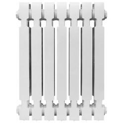 Чугунный радиатор  KONNER Модерн, 10 секций с монтажным комплектом