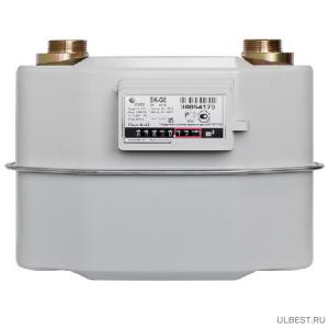 Газовый счетчик BK G6 V2dm3 250мм левый фото
