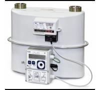 СГ-ТК-Д-16 Qmax=16 куб.м/ ч; монтаж корректора и датчика температуры на корпус а