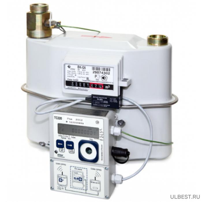 Комплекс СГ-ТК-Д-16 монтаж датчика температуры в входной патрубок на базе ВК 10