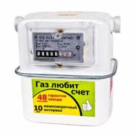 Газовый счетчик Сигнал СГБ-G4-1 боковой нов.обр. правый-22