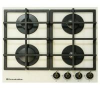 Газовая варочная панель Electronicsdeluxe GG4_ 750229F-016 топленое молоко
